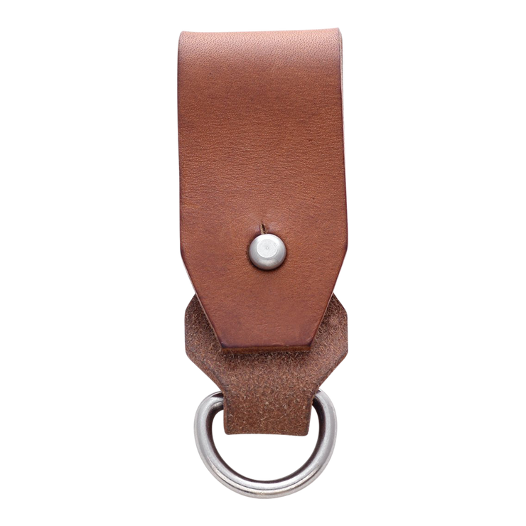 Dango Belt Fob (Whiskey Brown) - Back View