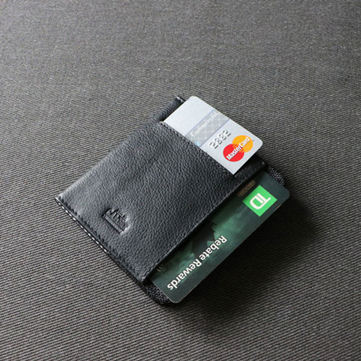 Loft of Cambie Flip Wolyt with RFID Shield (Stealth Black) - Card Slot