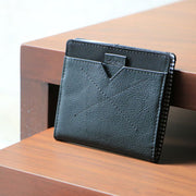 Loft of Cambie Flip Wolyt with RFID Shield (Stealth Black) - Minimal Design
