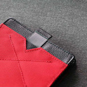 Loft of Cambie Flip Wolyt with RFID Shield (Red/Black) - Pull Tab