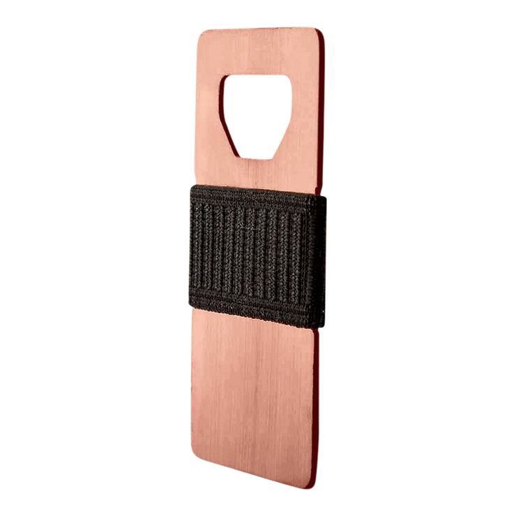 Spine Copper Minimalist Wallet at Wallet Co - Slim Profile
