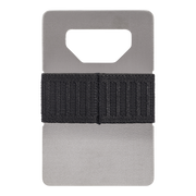Spine Titanium Minimalist Wallet (Industrial) - Back View