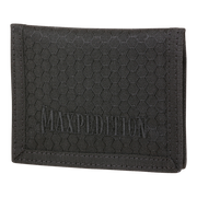 Maxpedition AGR LPW Low Profile Wallet (Black) - Front View