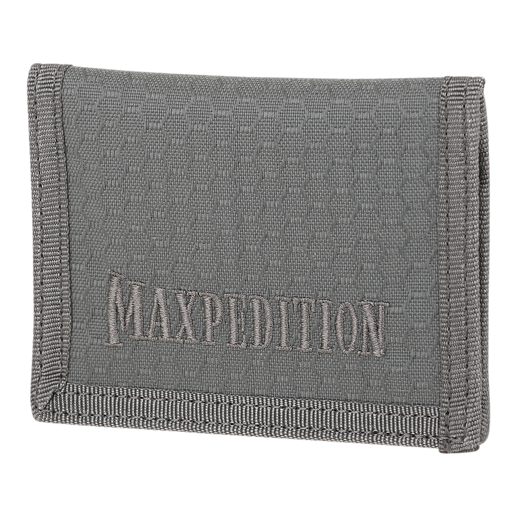 Maxpedition AGR LPW Low Profile Wallet (Grey) - Front View