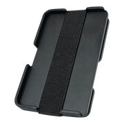 Liquid Carry Carbon Fibre Wallet (Black Screws) - Back View