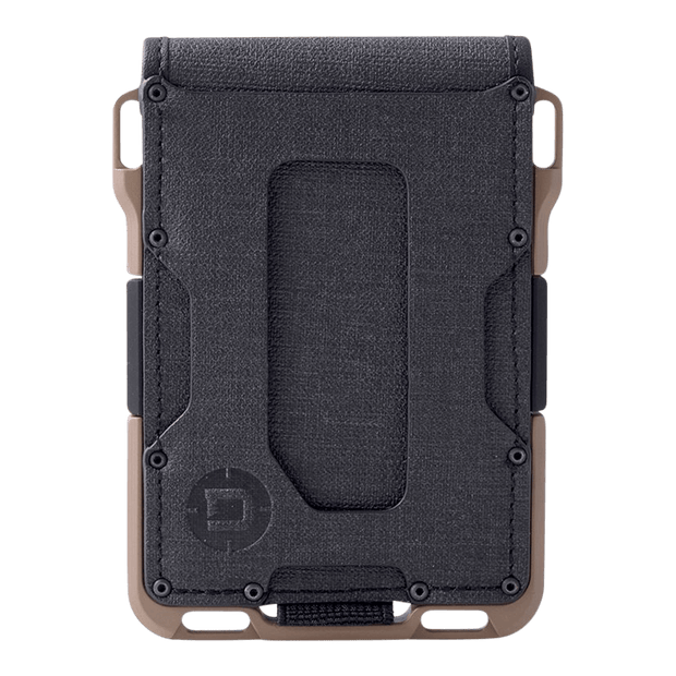 Dango M1 Maverick 4 Pocket Bifold Spec-Ops Wallet (Desert Sand) - Front View