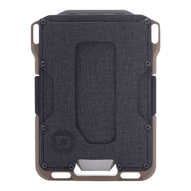 Dango M1 Maverick Single Pocket Spec-Ops Wallet (Desert Sand) - Front View
