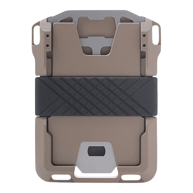 Dango M1 Maverick Single Pocket Spec-Ops Wallet (Desert Sand) - Back View