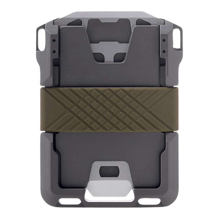 Dango M1 Maverick Single Pocket Spec-Ops Wallet (OD Green) - Back View