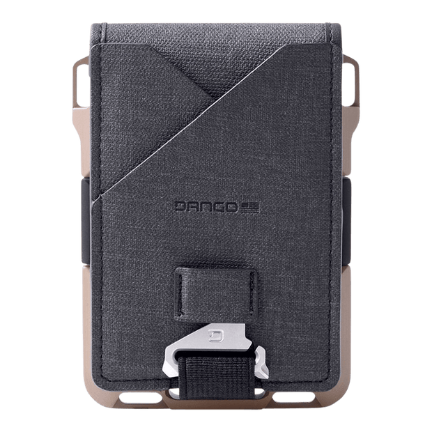 Dango M1 Maverick 4 Pocket Bifold Spec-Ops Wallet (Desert Sand) - Back View