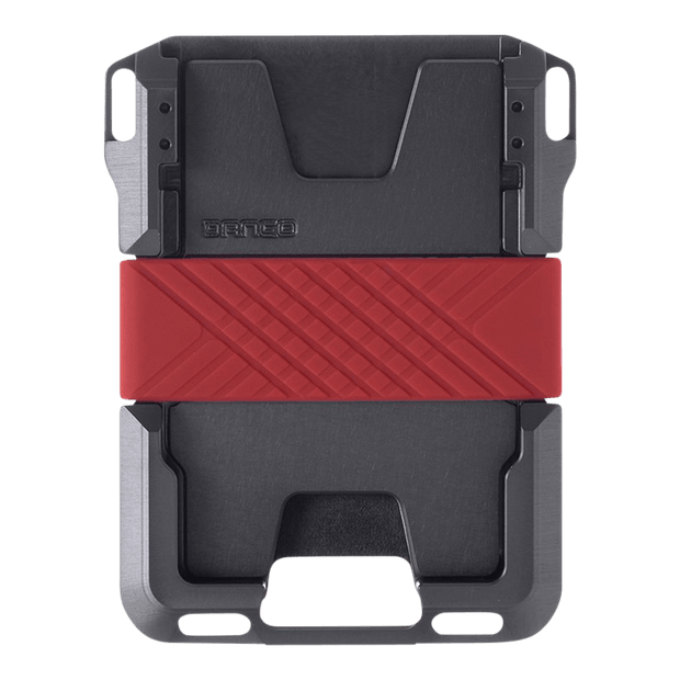 Dango M1 Maverick Single Pocket Special Edition Wallet (Slate Grey) - Back View