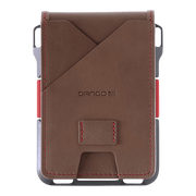 Dango M1 Maverick 4 Pocket Bifold Special Edition Wallet (Slate Grey) - Back View