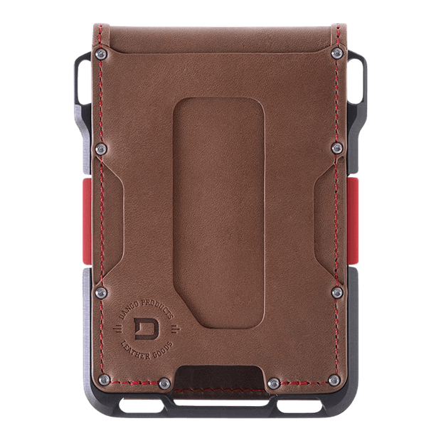Dango M1 Maverick 4 Pocket Bifold Special Edition Wallet (Slate Grey) - Front View