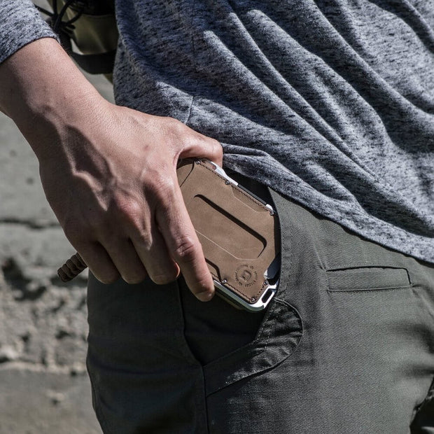 Dango M1 Maverick Tactical 4 Pocket Bifold Wallet (RAW Edition) - In Pocket