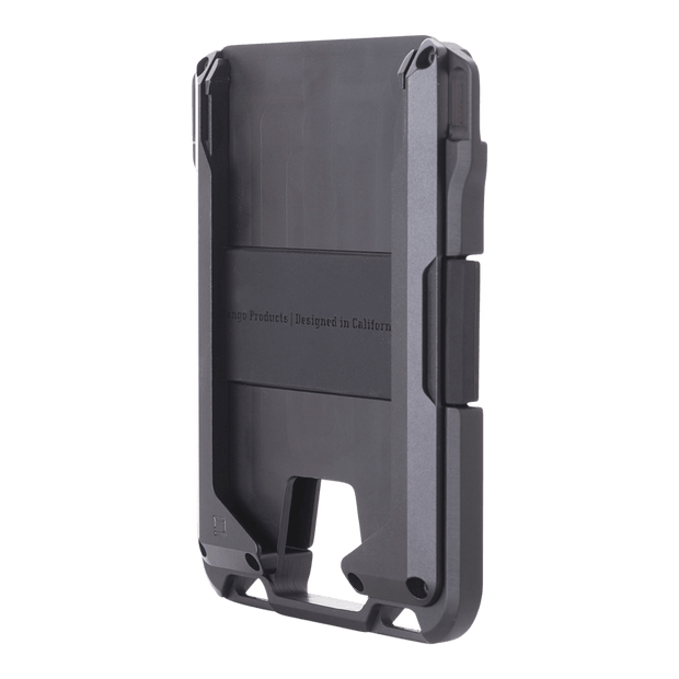 Dango M1 Maverick Rail Wallet (Jet Black) - Anodised Aluminium Chassis