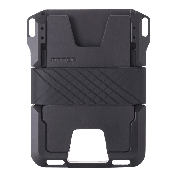 Dango M1 Maverick Rail Wallet (Jet Black) - Back View