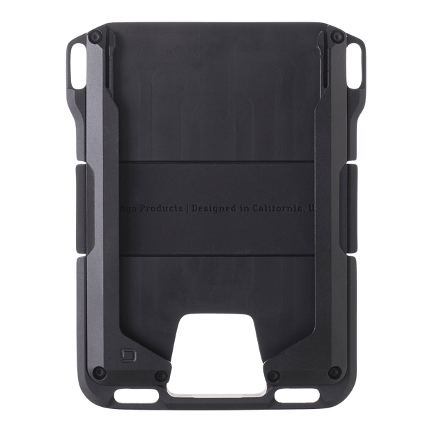 Dango M1 Maverick Rail Wallet (Jet Black) - Front View