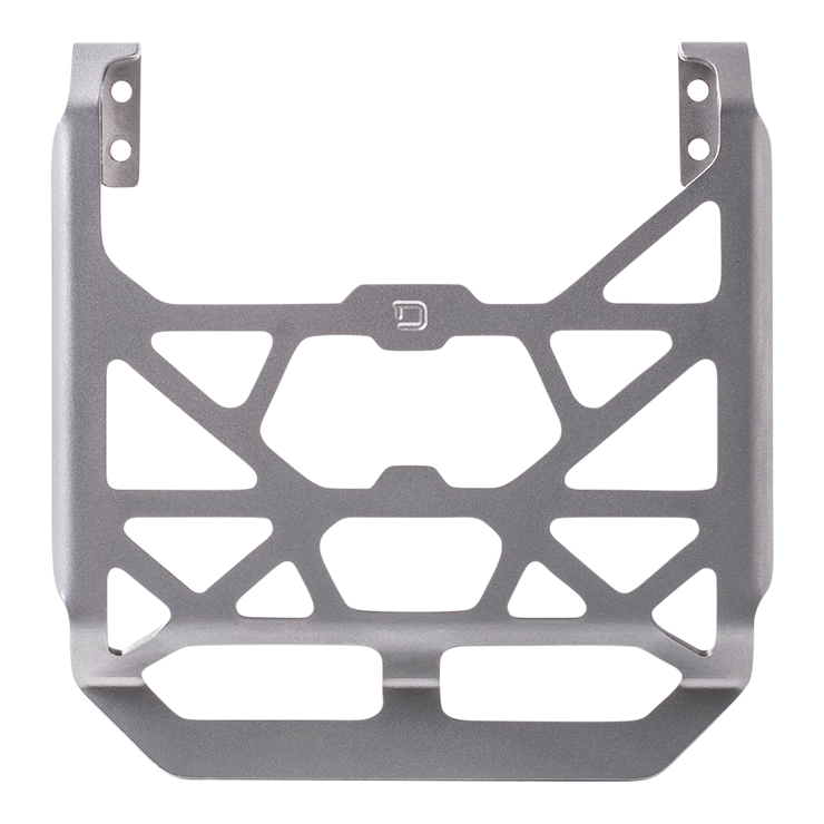 Dango M1 Chassis Clip (Satin Silver) - Front View