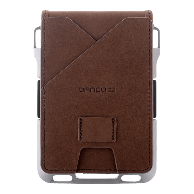 Dango M1 Maverick Tactical 4 Pocket Bifold Wallet (Raw Edition) - Back View