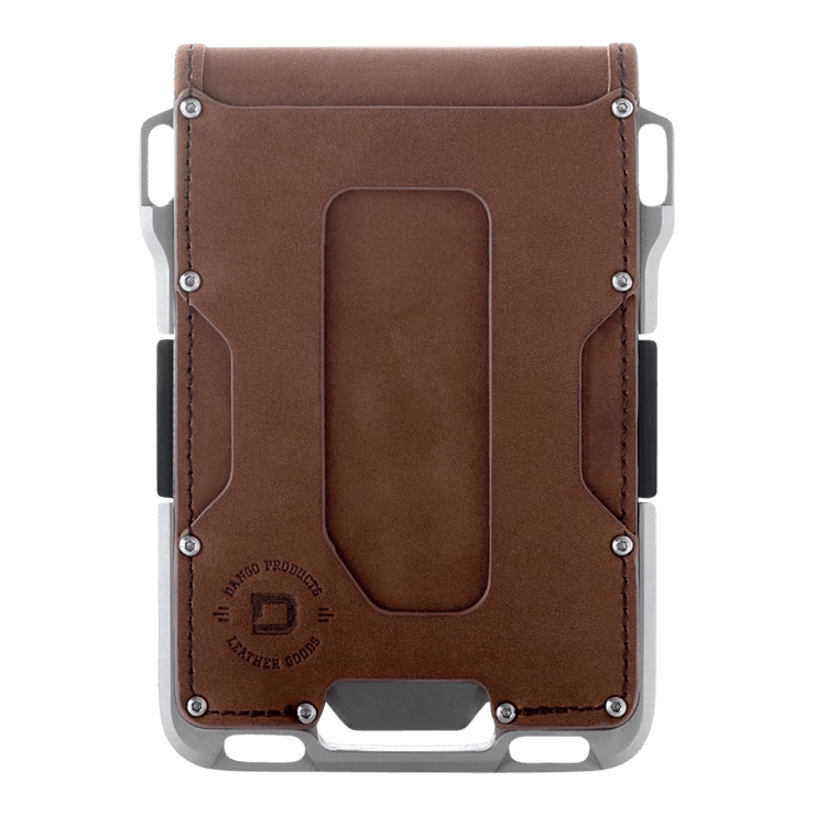 Dango M1 Maverick Tactical 4 Pocket Bifold Wallet (RAW Edition) - Front View