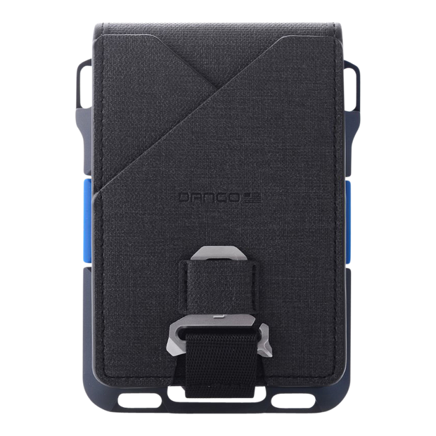 Dango M1 Maverick 4 Pocket Bifold Spec-Ops Special Edition Wallet (Blueline) - Back View