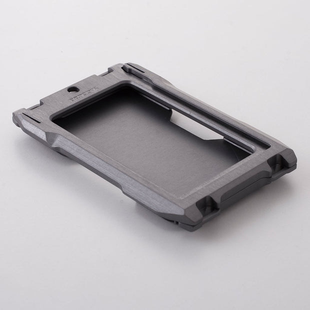 Dango A10 Adapt Bifold Wallet (Slate Grey) - Chassis Front View