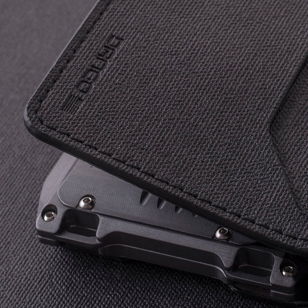 Dango A10 Adapt Bifold Wallet (Slate Grey) - 4 Built-In Loopholes