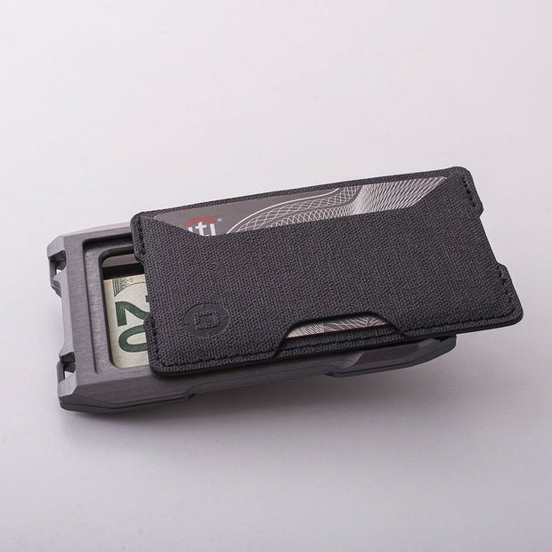 Dango A10 Adapt Single Pocket Wallet (Slate Grey) - Modular Design
