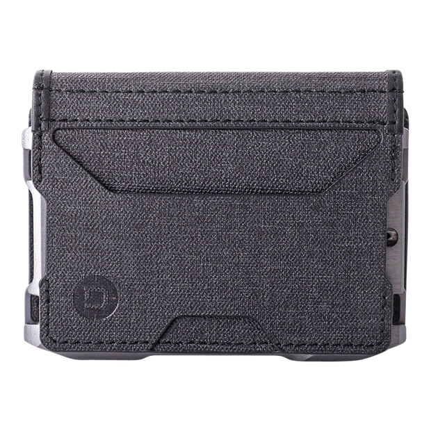 Dango A10 Adapt Bifold Wallet (Slate Grey) - DTEX Pocket Front View