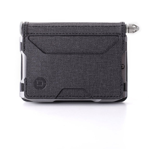 Dango A10 Adapt Bifold Pen Wallet (Slate Grey) - DTEX Pocket Front View