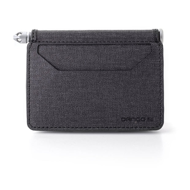 Dango A10 Adapt Bifold Pen Wallet (Slate Grey) - DTEX Pocket Back View