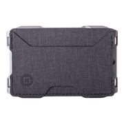 Dango A10 Adapt Single Pocket Wallet (Slate Grey) - Front View