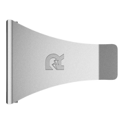 The Ridge Individual Money Clip (Silver) - Aerial View