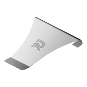 The Ridge Individual Money Clip (Silver) - Spring Steel