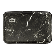 Ögon Stockholm Aluminium Wallet (Marble) - Front View