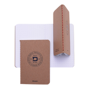 Dango P01 Pioneer Wallet & Dango Pen (Jet Black) - 48 Page Notebook Multiple View