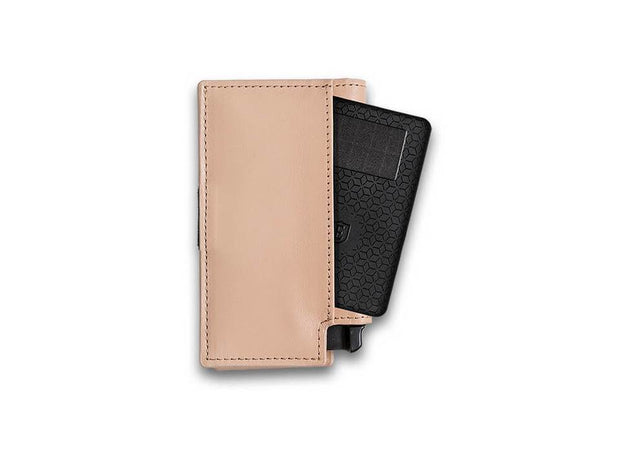 Ekster Parliament Leather Wallet (Blush Beige) - Tracker Card