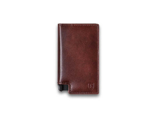 Ekster Parliament Leather Wallet (Classic Brown) - Front View
