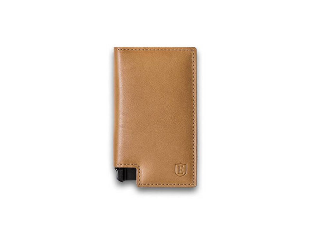 Ekster Parliament Leather Wallet (Roma Cognac) - Front View