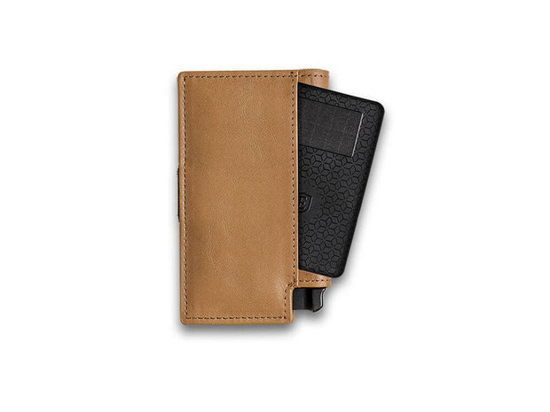 Ekster Parliament Leather Wallet (Roma Cognac) - Tracker Card
