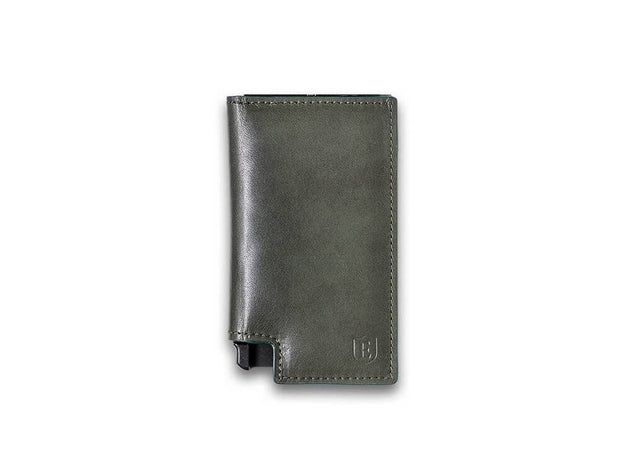 Ekster Parliament Leather Wallet (Juniper Green) - Front View
