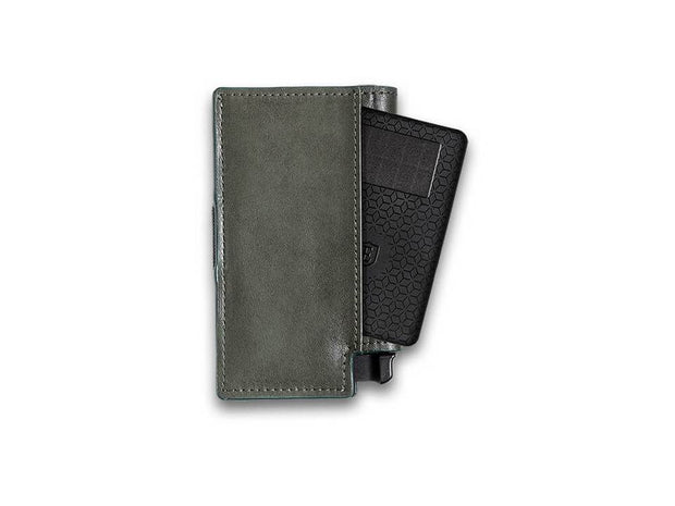 Ekster Parliament Leather Wallet (Juniper Green) - Tracker Card