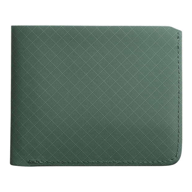 Pioneer Division 3PN Matte Billfold Wallet (Evergreen) - Front View