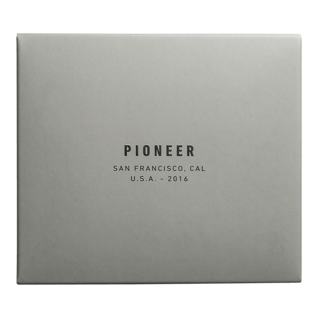 Pioneer Division 3PN Matte Billfold Wallet (Navy) - Packaging