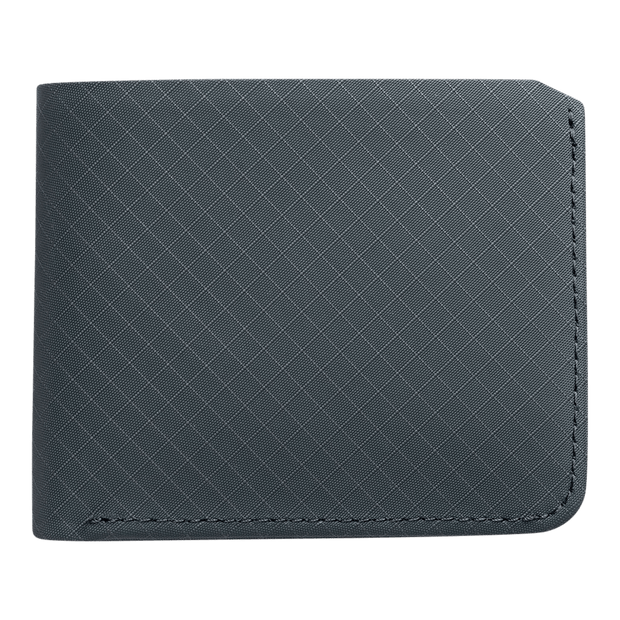 Pioneer Division 3PN Matte Billfold Wallet (Slate) - Front View