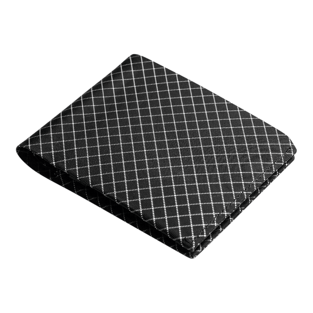 Pioneer Flyfold 10XD Ripstop Bifold Wallet (Black) - Angled View