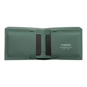 Pioneer Flyfold 3PN Matte Bifold Wallet (Evergreen) - Open View