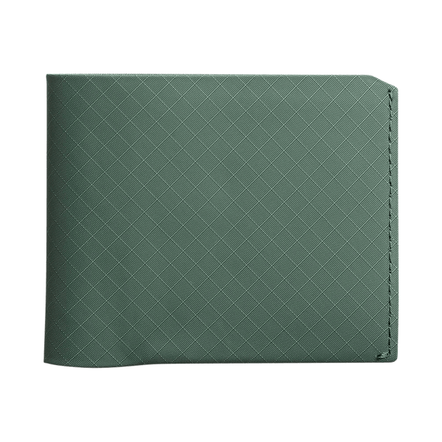 Pioneer Flyfold 3PN Matte Bifold Wallet (Evergreen) - Front View