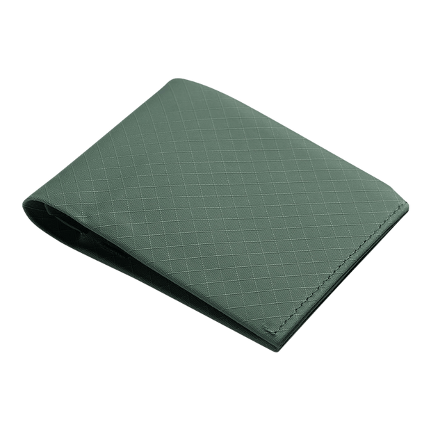 Pioneer Flyfold 3PN Matte Bifold Wallet (Evergreen) - Angled View
