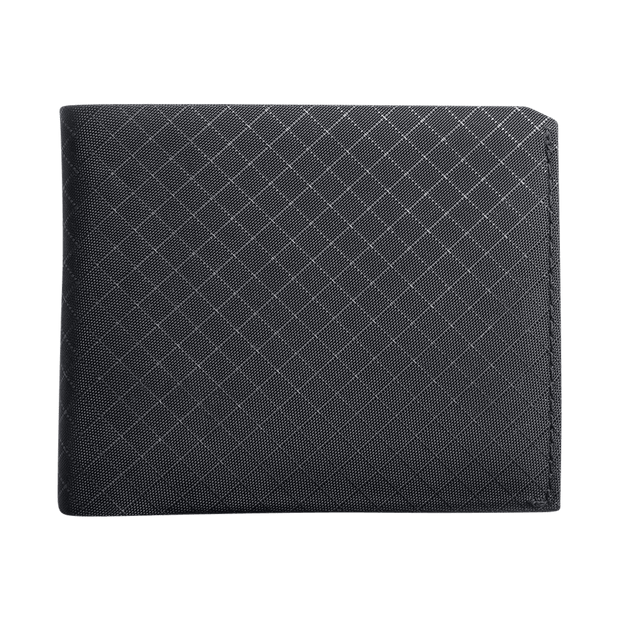 Pioneer Flyfold 10XD Ripstop Bifold Wallet (Onyx) - Front View